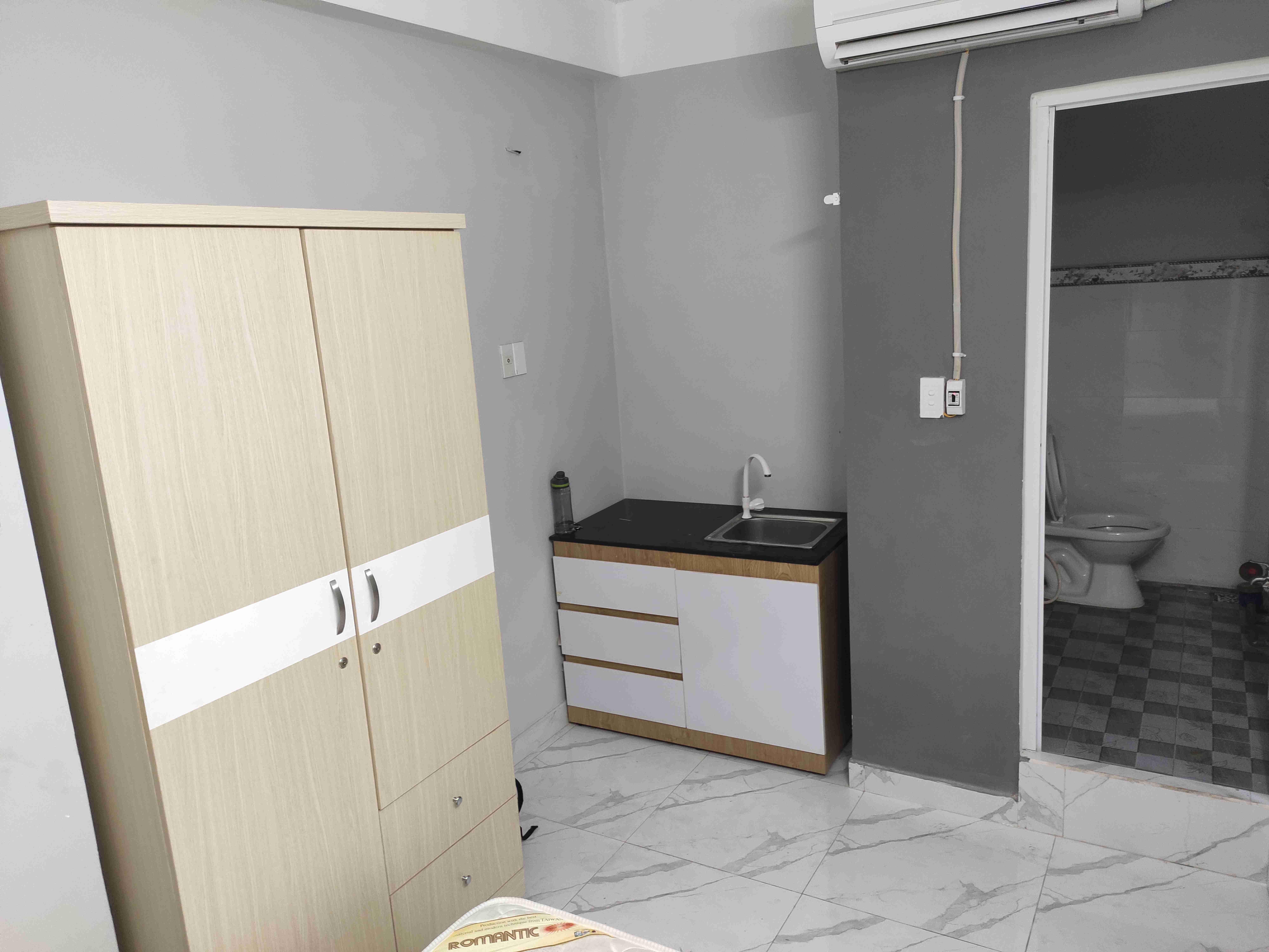 Cho thuê căn hộ mini 20m2 Dương Quảng Hàm ,Tầng Trệt